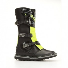 BOTA RAINERS 334 JUNIOR NEGRO/FLUOR